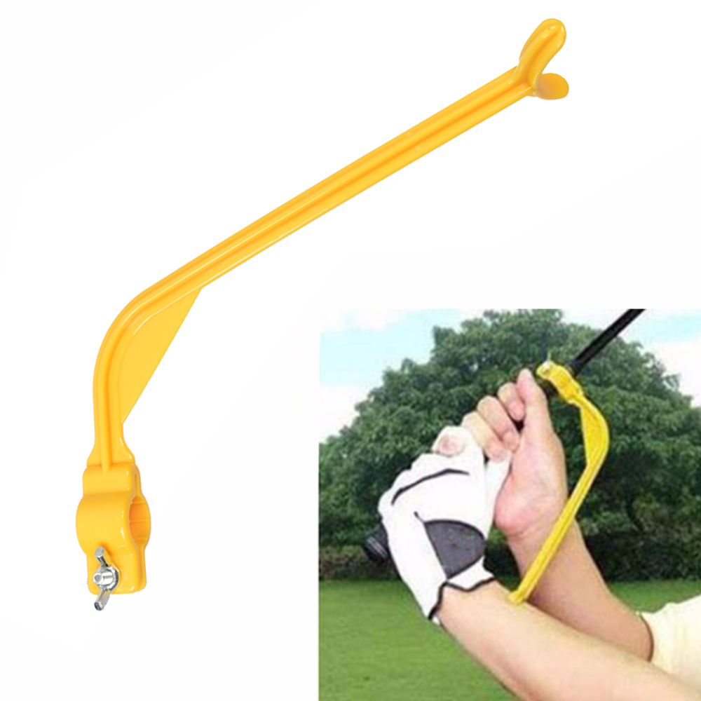 1PCS Practical Practicing Guide Golf Swing Trainer Beginner Gesture Alignment Training  Aids Correct Swing Trainer Dropship