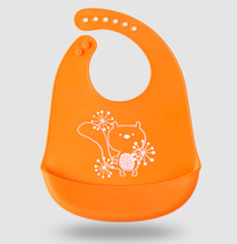 Waterproof Soft Silicone Bibs