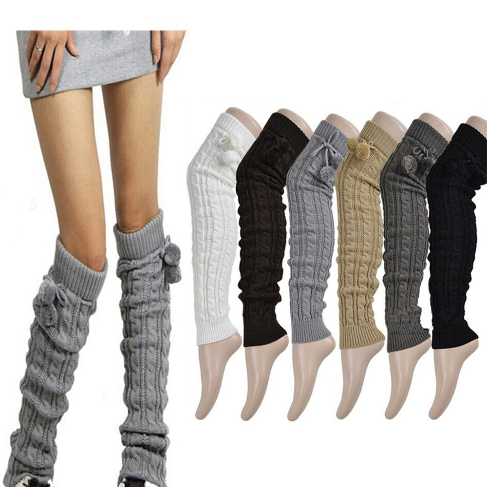 2019 year looks- High thigh socks winter outfits photo
