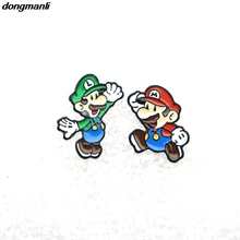 Здесь можно купить  WS1325 dongmanli New Arrival game cute Mario Monster Stud Earrings Female Gift Fashion Jewelry Accessories