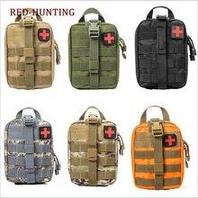 Тактический индивидуальный Набор для первой помощи сумка Молл ЕМТ Рип-Вэй медицинская подсумок 7 цветов
