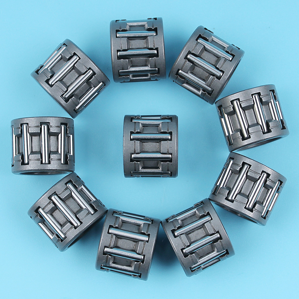 10Pcs/lot Clutch Needle Bearing Cage Kit For Partner 350 351 Chainsaw 14mmx10mmx12mm NEW PARTS
