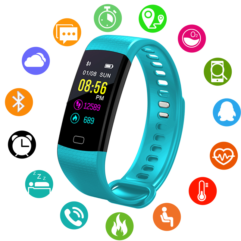 Watches Bangwei Smartwatch Electronic Smart Watch Women Men Running Cycling Climbing Sport Watch Health Pedometer Led Color Screen Watch