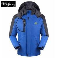 Hot Sale Female Unisex Women Men Outdoor Double Layer Waterproof Climbing Ski Jackets Windbreaker Warm Coat