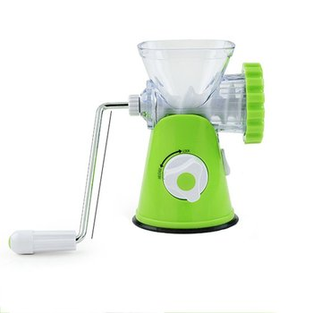 S-k04 Manual Household Small Multi-function Plastic Material Small And Exquisite Simple Operation Meat Grinder