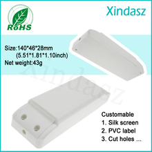 XDL-007 10 шт./лот, новейший светодиодный пластиковый чехол, пластиковый корпус, электронный корпус 140*46*28 мм