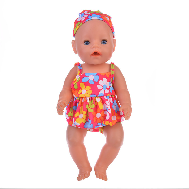Doll Jump Suits Fit For 43cm Baby Born Zapf&18inch ...