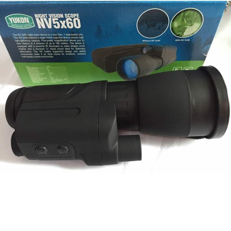 Original Yukon 24065 Infrared Night Vision Scope NV 5X60/ Ideal choice for amateurs/outdoors enthusiasts/hunters and tourists