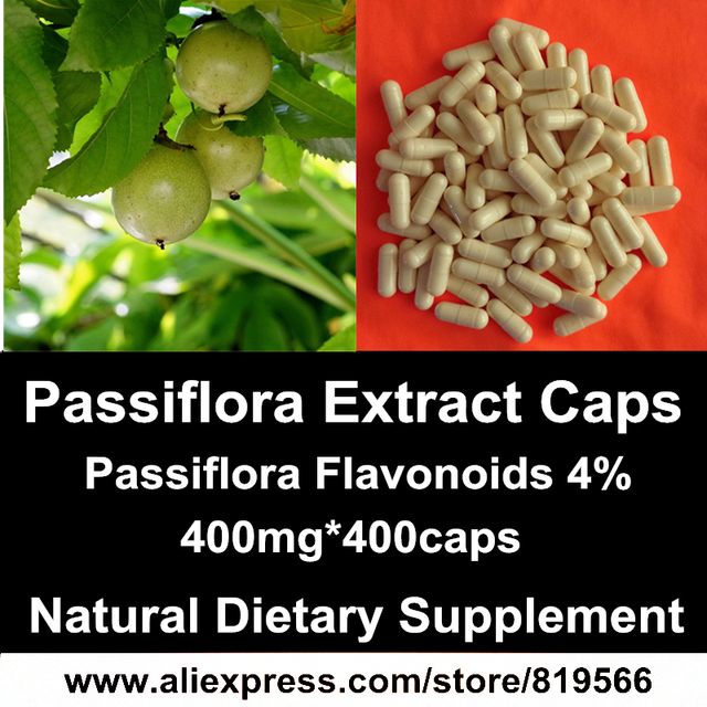 US $51 99 |Passiflora Extract Powder Capsule Natural Health Care Herbal  Passion Flower Caps Sedative Anti stress Dietary Supplements on  Aliexpress com