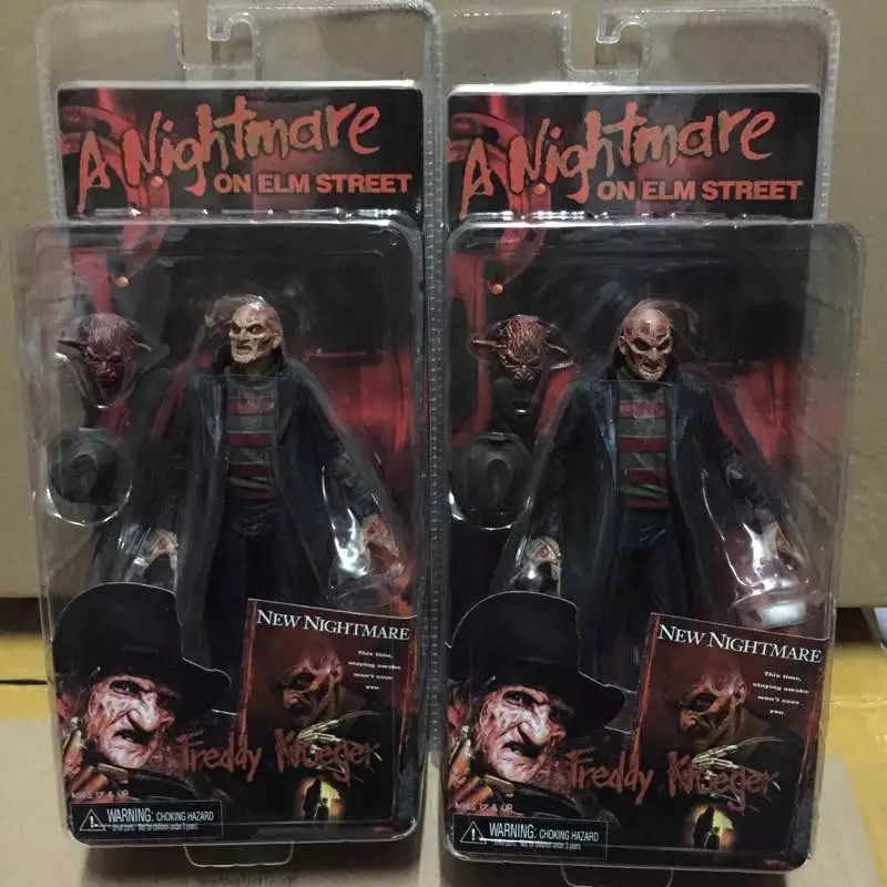 ALEN NECA a Nightmare on Elm Street New Nightmare Freddy Krueger PVC Action Figure Collectible Model Toy new hot 15cm a nightmare on elm street freddy krueger collectors action figure toys christmas gift doll with box