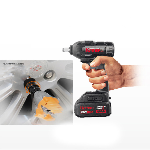 New Arrival Germany Kress Tool 20v Cordless Impact Wrench Kiw800 1 2 Lithium