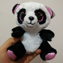 Original Ty Beanie Boos Big Eyes Plush Toy Doll Panda Husky bat unicorn hug love TY Baby Kids Gift 10-15 cm Stuffed Animals