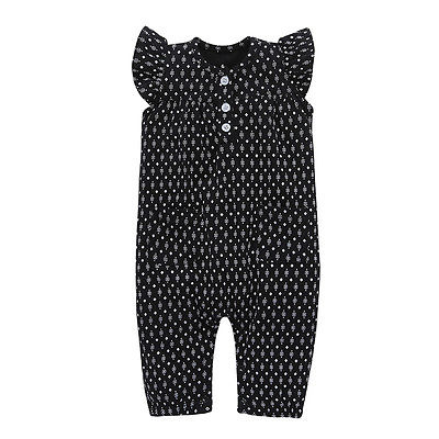 Kids Infant Baby Girl Romper Polka Dot Jumpsuit Playsuit Long Pant Summer Newbonr Baby Girl Onesie Outfit newborn infant baby girl clothes strap lace floral romper jumpsuit outfit summer cotton backless one pieces outfit baby onesie