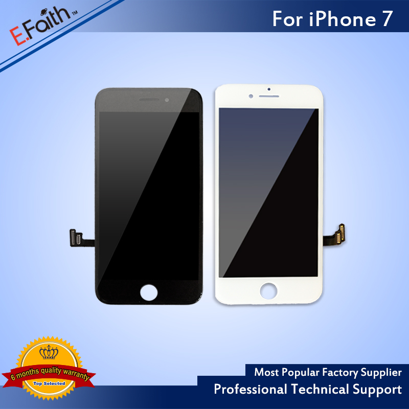 imágenes para 20 unids Para el iphone 7 7G Pantalla LCD Digitalizador Asamblea Pantalla Replacment del Enchufe de Fábrica Para Apple 7 7G LCD Envío Libre de DHL