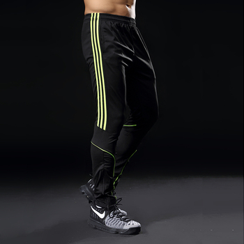 Sport Running Pants Men With Pockets Athletic Football Soccer Training Pants Elasticity Legging jogging Gym Trousers 319 2