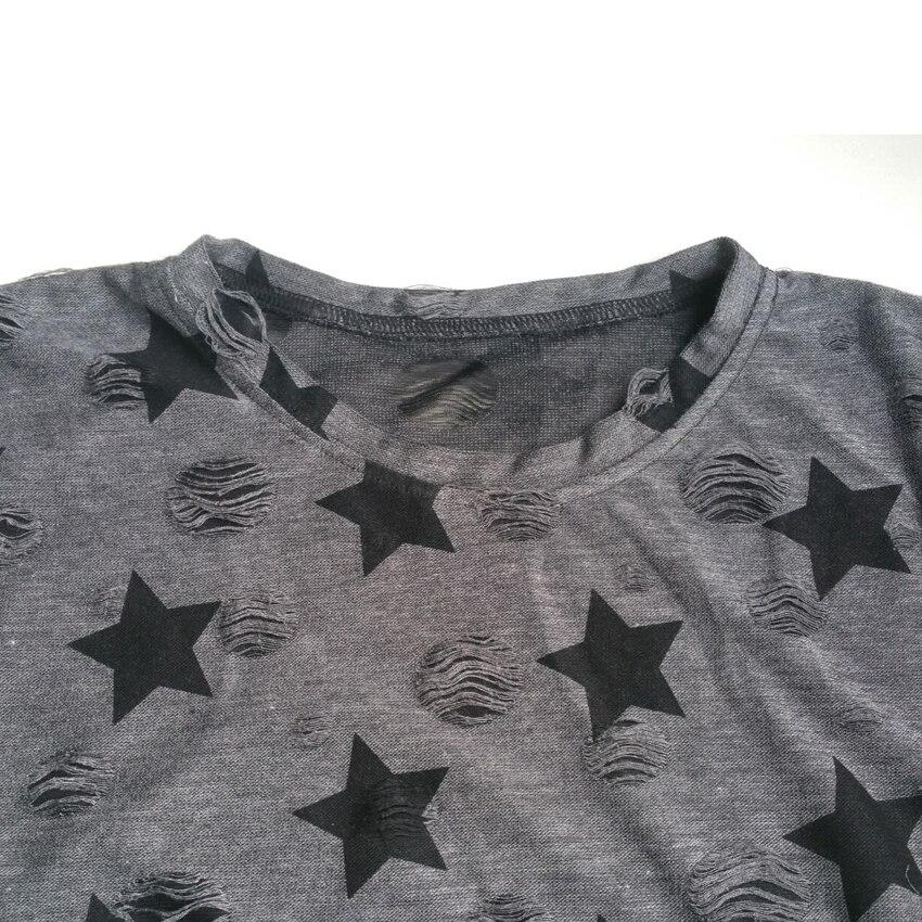 HTB16bwmQFXXXXanXpXXq6xXFXXXc - T shirt Ladies short sleeve star print vintage casual T-shirt