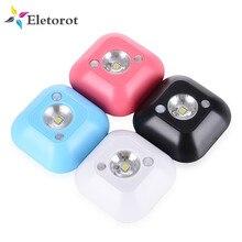 Светодиодный сенсорный Ночной светильник, индукционный инфракрасный датчик движения из pir лампы, магнитный инфракрасный настенный светильник для шкафа, лестницы, светильник, умный светильник