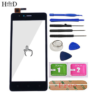 Image 2 - 5 Mobile Touch Screen Digitizer Panel For TP Link Neffos C5A Touch Screen Glass Front Lens Sensor Tools Adhesive