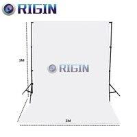 White Color 3m*3m Portrait background non woven cloth photo background cloth photography background cloth