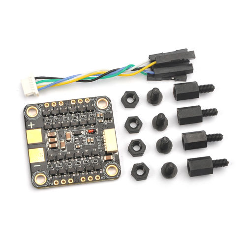 BS412 Blheli_s 2-4S 4in1 ESC 4x12A for FPV Racing Drone DIY Quadcopter Support Dshot /Multishot / Oneshot42 / Oneshot125 F20437