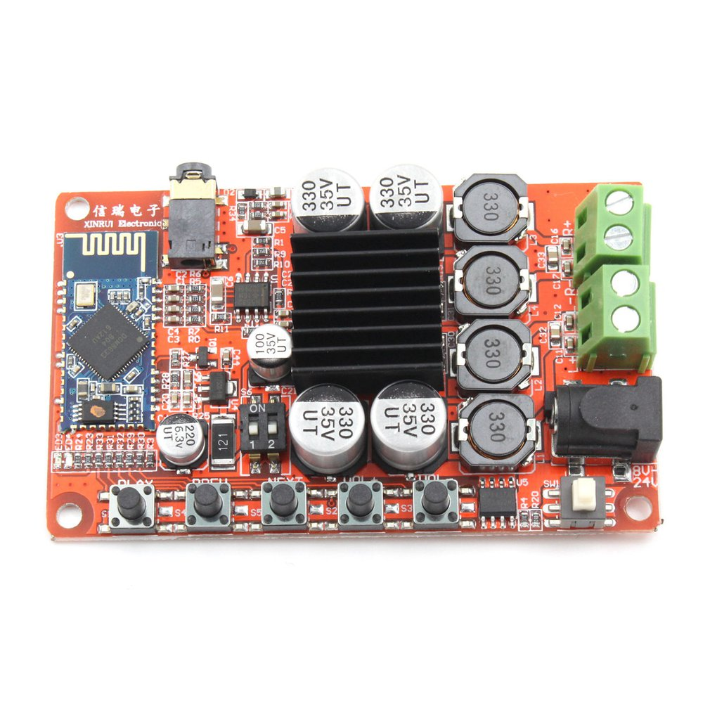 Professional TDA7492 50W*2 AUX Switch Wireless Bluetooth 4.0 Audio Digital Amplifier Board Module Parts