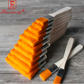 12 шт./компл. плоский нейлоновый деревянный держатель для волос  кисть для масляной живописи  акриловая кисть для масляной краски  щетки для о...