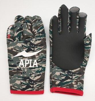 Koude-Proof En Warme Outdoor Vissen Handschoenen Herfst Winter Professionele Gecoat Titanium Vissen Handschoen M-L-XL
