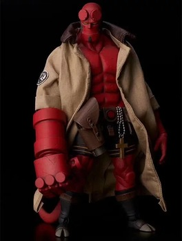 18cm Hellboy movable Hellboy PVC Action Figure Collectible Model Gift Toy