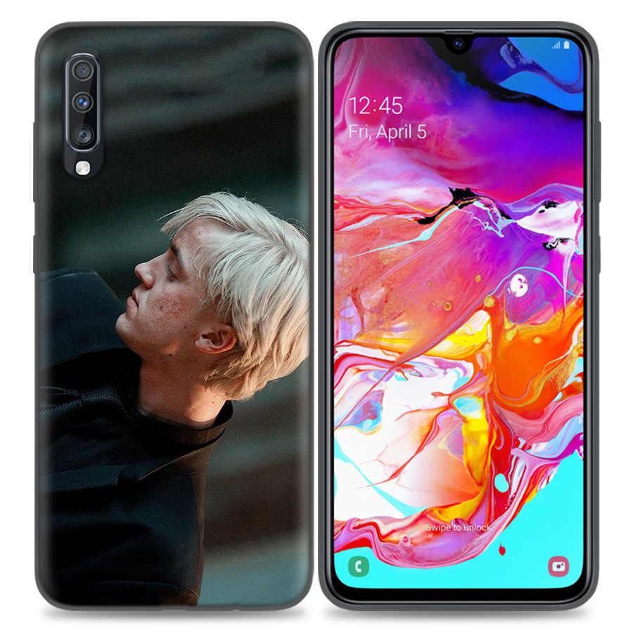 Custodia in Silicone per Samsung Galaxy A50 A80 A70 A40 A30 A20 A20e A10 A51 A71 nota 8 9 10 Plus 5G 10 Lite Draco Malfoy shell