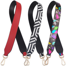 Fashion Color Strap Wide Straps Bag Shoulder Accessories belts Flower For Bags