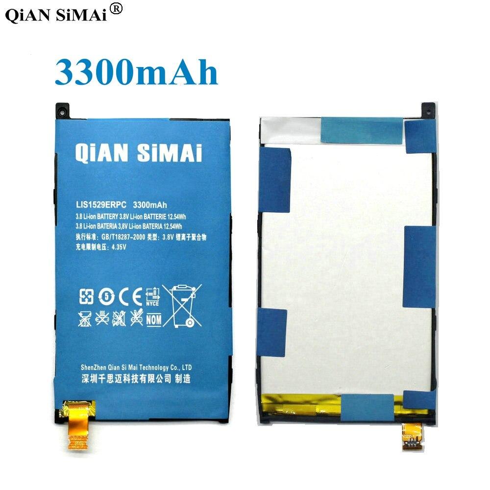 QiAN SiMAi Haute Qualité lis1529erpc 3300 mAh Batterie Pour Sony Xperia Z1 mini D5503 Z1 Compact M51w Téléphone + Suivi Code