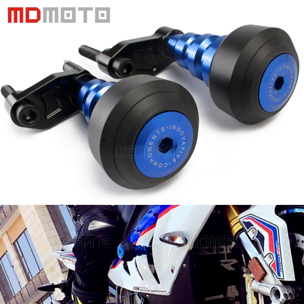 Motorcycle Left&Right Frame Slider Anti Crash Pads Protector For BMW S 1000 RR S1000RR S1000 2010 2011 2012 2013 2014 2015 cnc motorcycle stator cover slider frame crash protector for triumph tiger 800 xc 2011 2012 2013 green color