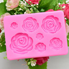 Rose Flower Silicone...