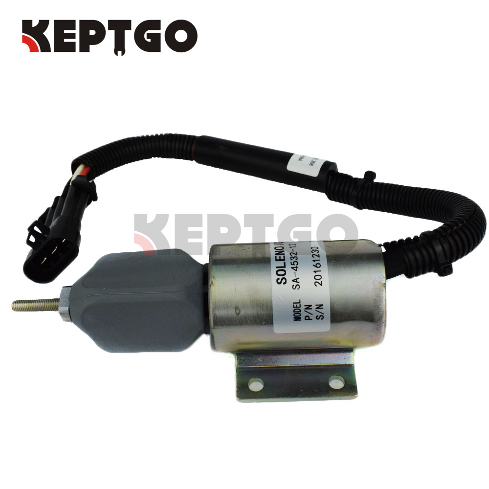 SA-4532-12 59009134 Fuel Solenoid 12v For Ingersoll-Rand DD-130 Compactor B5.9-C ingersoll i01002
