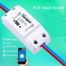 Sonoff Good Residence Distant Controller Wi-fi Common Swap Module Timer Wifi Swap Good Residence Controller Help IOS Android