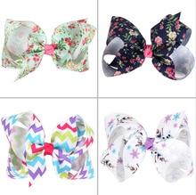 EASOV Kids Girls Bow Knot Hair Clip Cartoon Flower Hairpins Kids Headwear Flower Hair Accessories W168