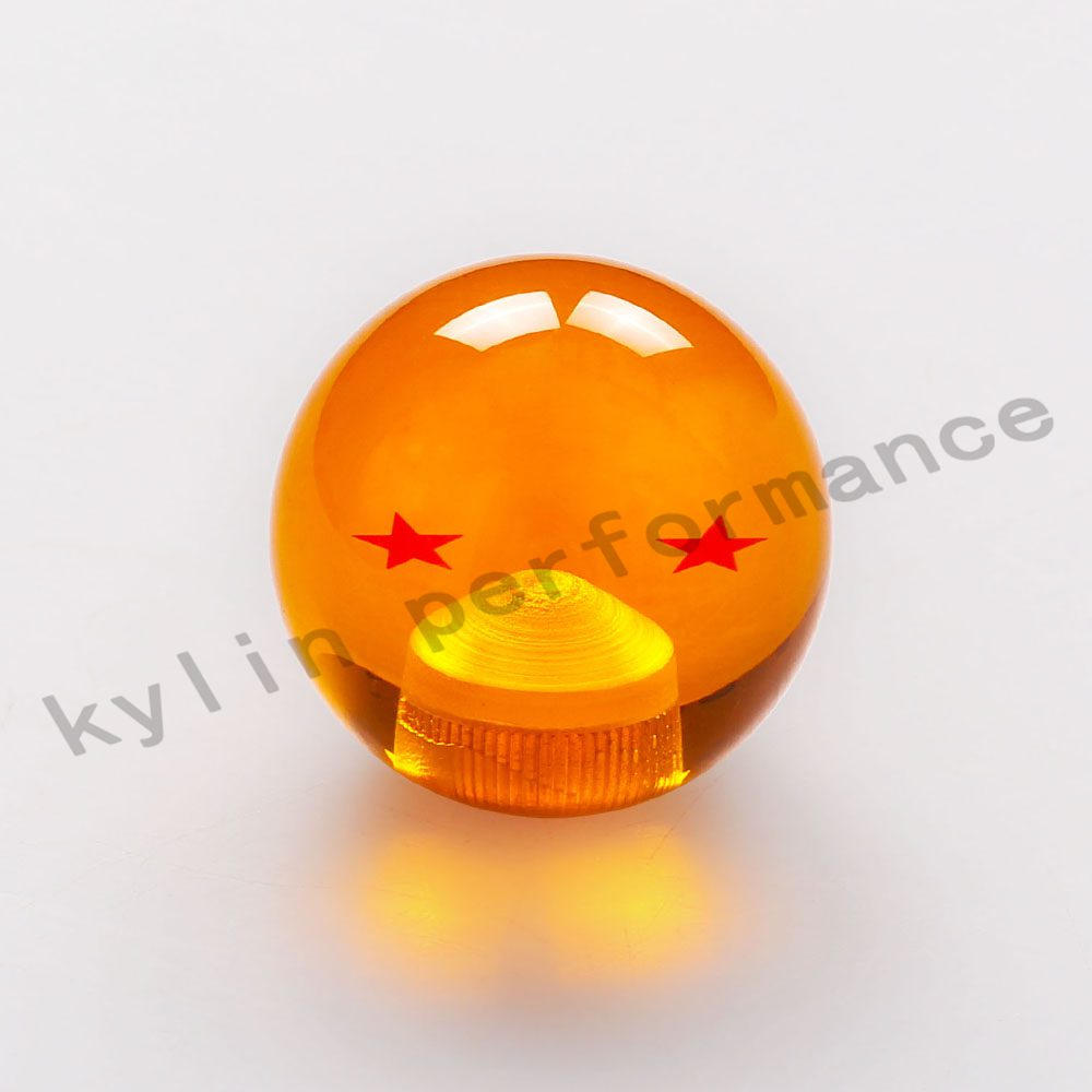 new arrived dragon ball z rare custom 54mm gear shift knob 1 7