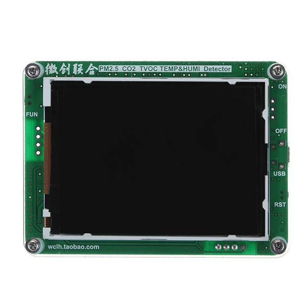 M5 particules PM2.5 PM1.0 PM10 détecteur de surveillance de l'air PM2.5 brume de poussière capteur Laser avec température et humidité LCD