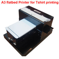 Flatbed Printer A3 For Tee SHIRTS Printing Phone Case Flatbed Printer