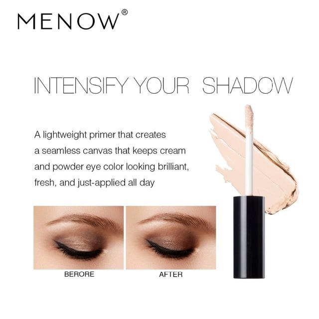 MENOW 1Pc Eyeshadow Primer Eyes Make up Base Waterproof Eye shadow Base Cream Cosmetics Primer maquiagem 2018 New Makeup Primer 2