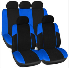 Car Seat Covers Universal Customized Set For Auto Blue Black For Truck SUV Car High Quality Free Shipping  Hot sale 2016 цена