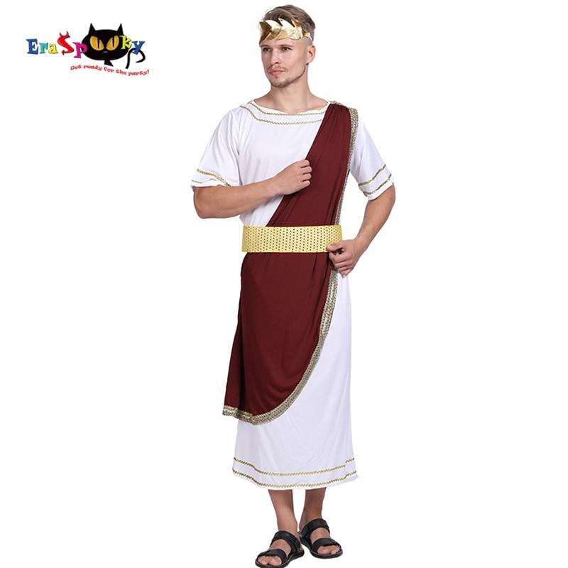 Adult Ladies Mens Greek Egyptian Roman Toga Caesar Costume Accessory Fancy Dress