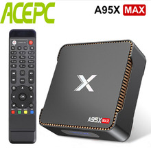 A95X MAX Android Tv Box Amlogic S905 X2 Quad core Cortex A53 2.4G&5G Wifi BT HDD HDMI2.1 USB3.0 Android 8.1 Box Video Recording