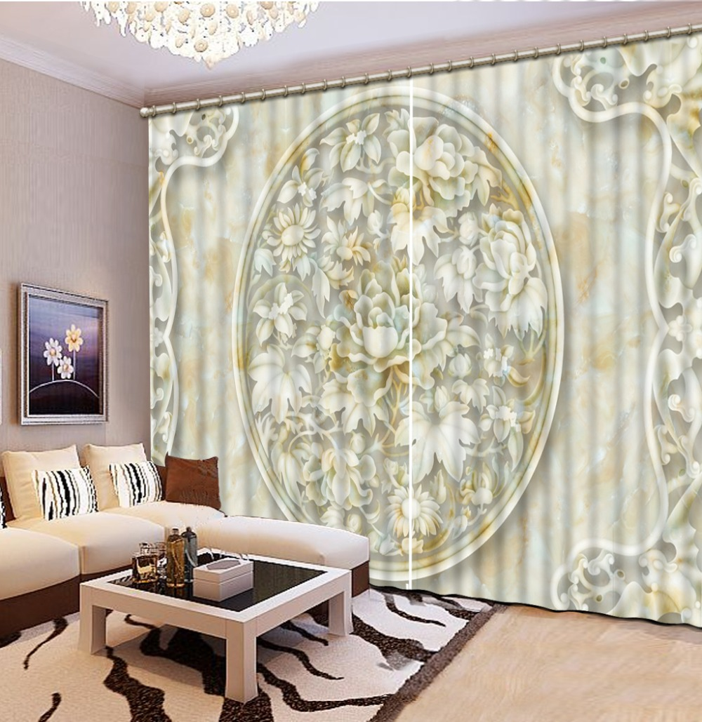 Luxury Blackout 3D Window Curtain For Living Room marble curtains modern living room curtains Luxury Blackout 3D Window Curtain For Living Room marble curtains modern living room curtains