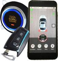 Smart key самовозгорания запуска двигателя мобильное приложение блокировки или разблокировки двери gps онлайн в режиме реального времени трево