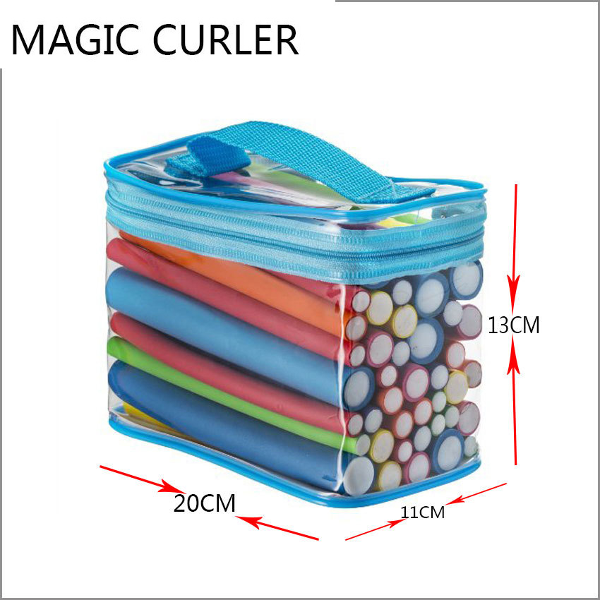 Magic Hair Curlers 18cm 42pcs Lot 7 Styles Hair Rollers