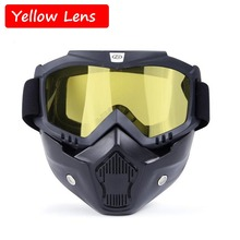 Military Mask Goggles CS Game Tactical Shooting Eye Protection Windproof Outdoor Sport Safety Glasses