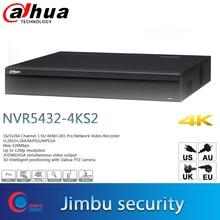Dahua überwachung Video recorder NVR5432 4KS2 H.265 Up 12Mp auflösung 32Ch 1,5 U 3D intelligente positionierung Dahua PTZ kamera