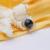 Dainashi mulheres pão preto redonda natural de água doce pérola moda com pingente de prata esterlina 925 para as mulheres de noiva