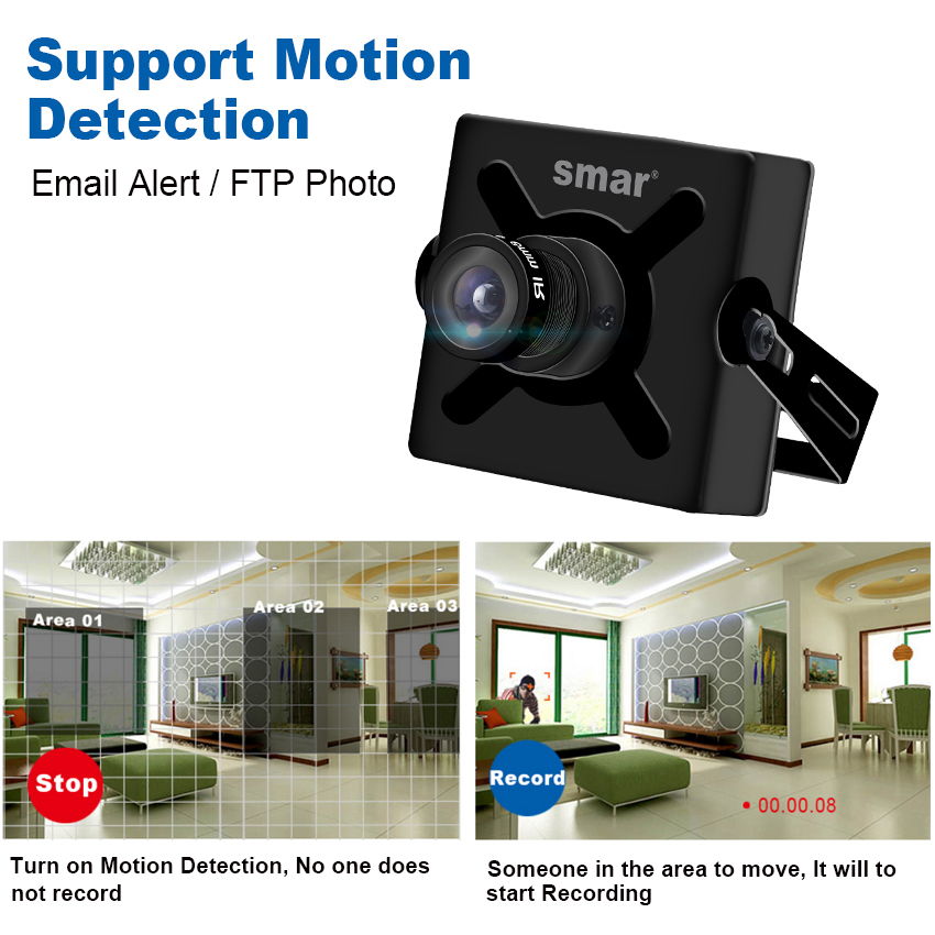 Full HD 720P 960P 1080P 25fps Mini IP Camera With PoE Security HD CCTV Network Camera 3.6mm Support Phone Android View P2P-in Surveillance Cameras from Security & Protection    3